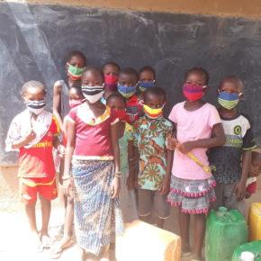 ブルキナファソの子ども達に、マスクを贈るプロジェクト始まりました
